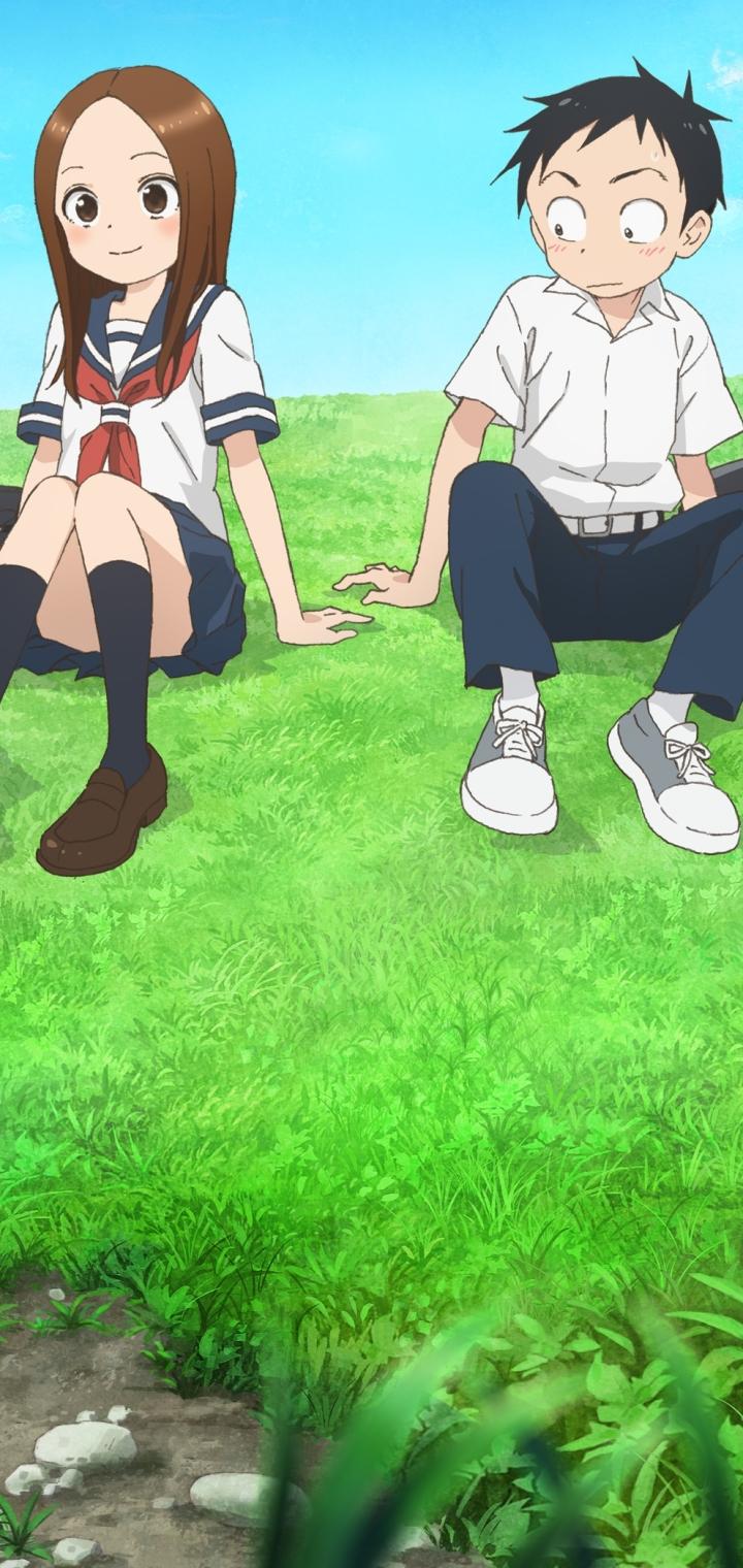 Anime Karakai Jouzu No Takagi San 720x1520 Wallpaper Id 804087