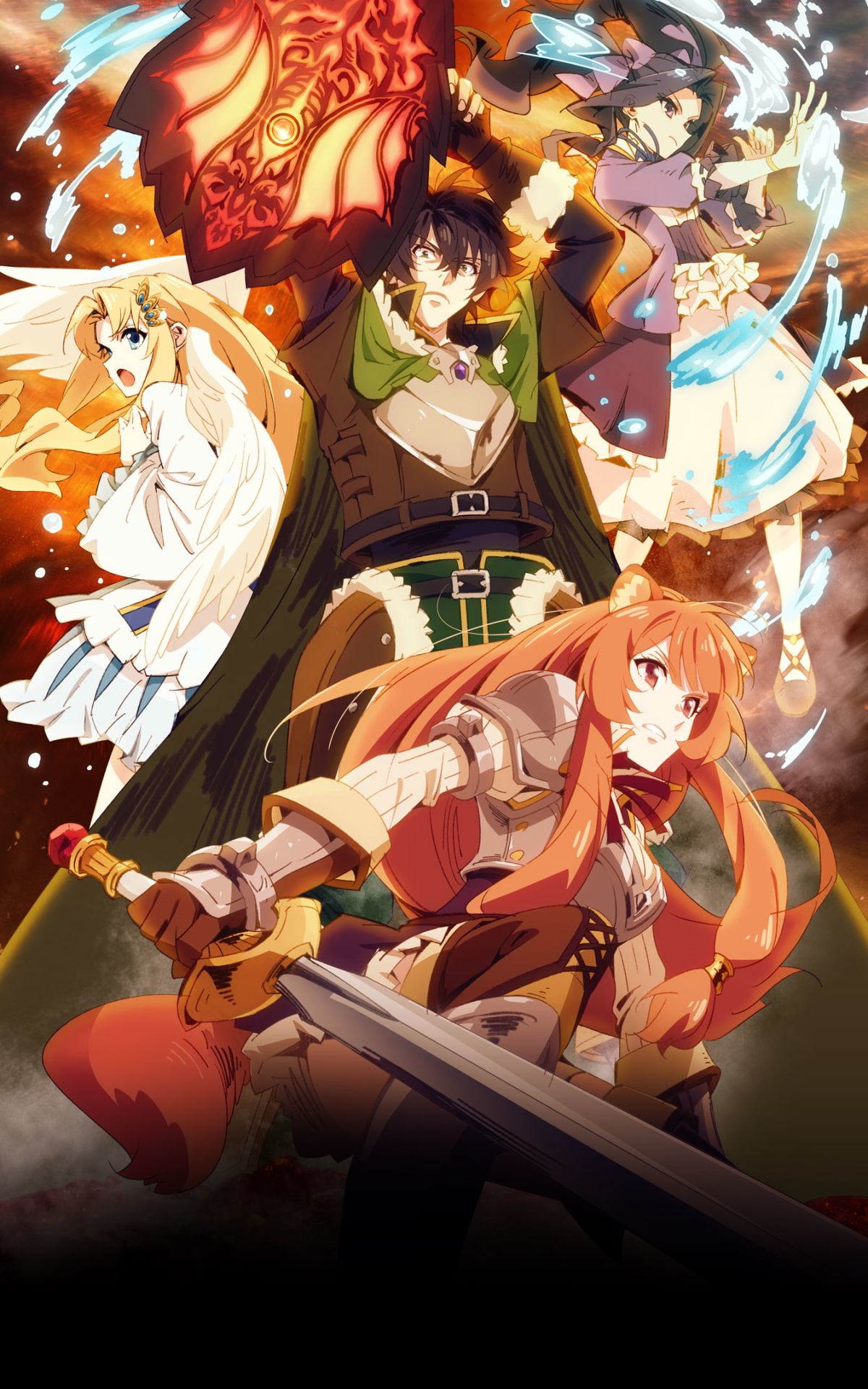 Anime The Rising Of The Shield Hero 1200x1920 Wallpaper Id