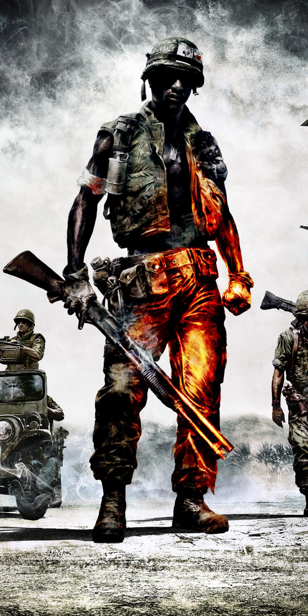 Video Game Battlefield Bad Company 2 1080x2160 Wallpaper Id