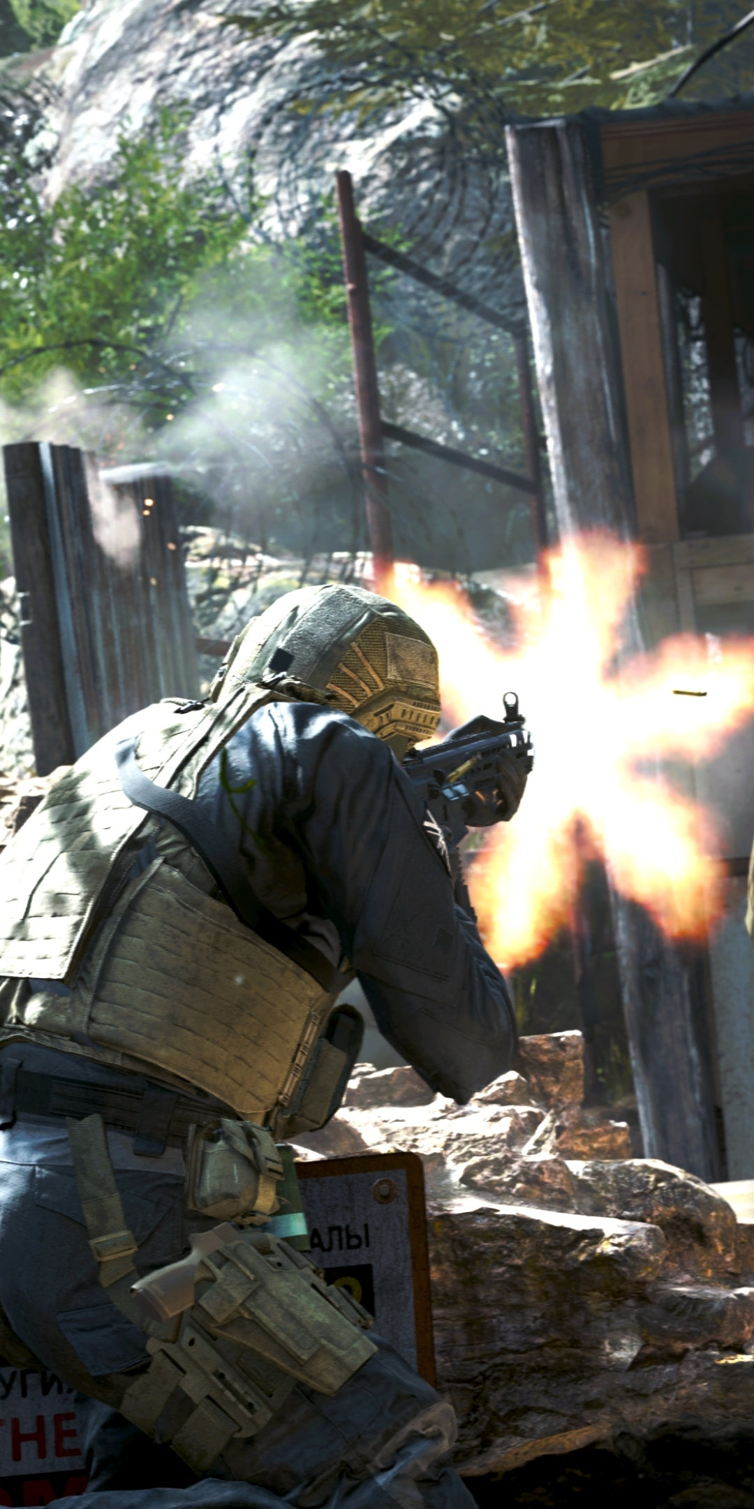 Video Game Call Of Duty Modern Warfare 1080x2160 Wallpaper Id