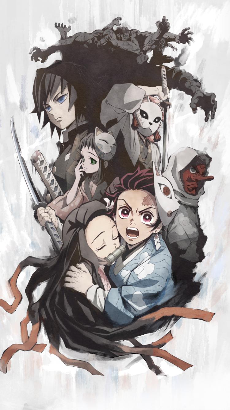 Anime Demon Slayer Kimetsu No Yaiba 720x1280 Wallpaper Id
