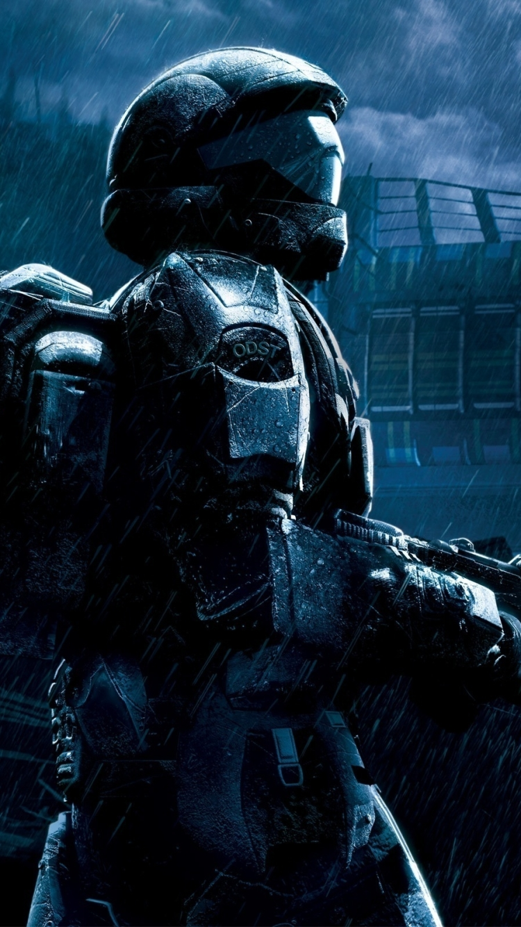 Video Game Halo 3 Odst 750x1334 Wallpaper Id 805055 Mobile Abyss
