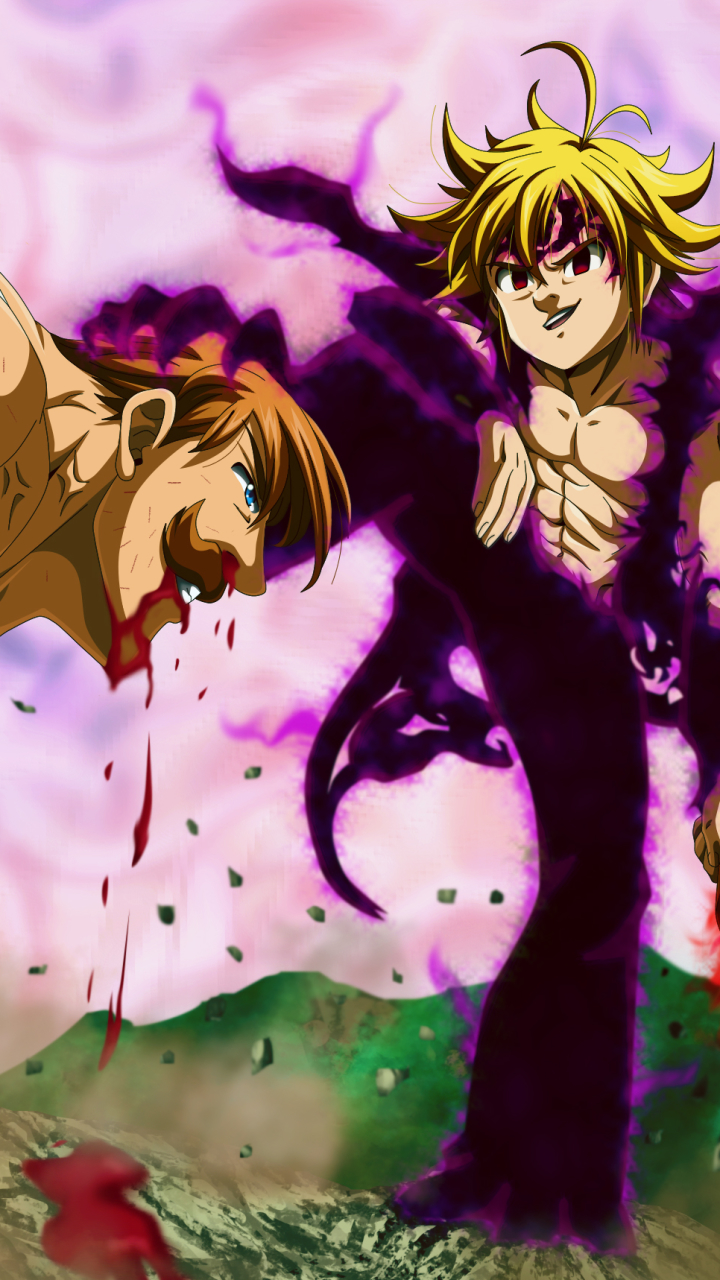 Anime The Seven Deadly Sins 720x1280 Wallpaper Id 805282