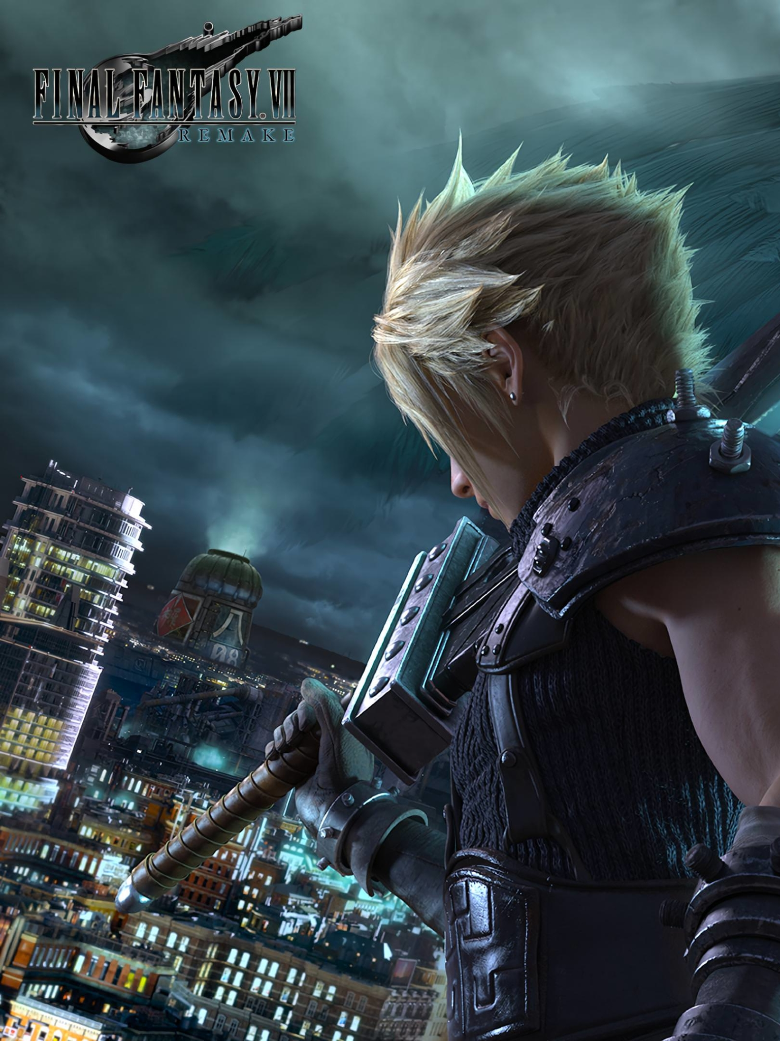 Video Game Final Fantasy Vii Remake 1536x2048 Wallpaper Id