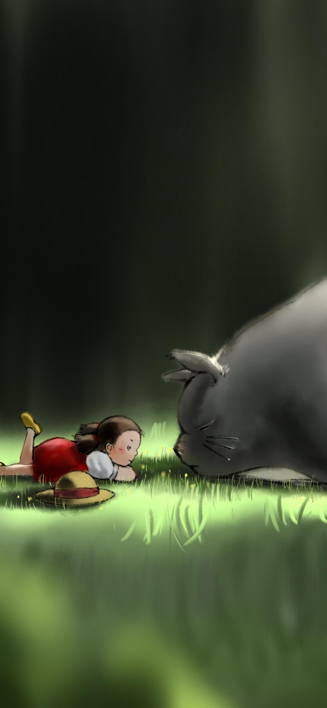 Movie My Neighbor Totoro 1125x2436 Wallpaper Id 814212