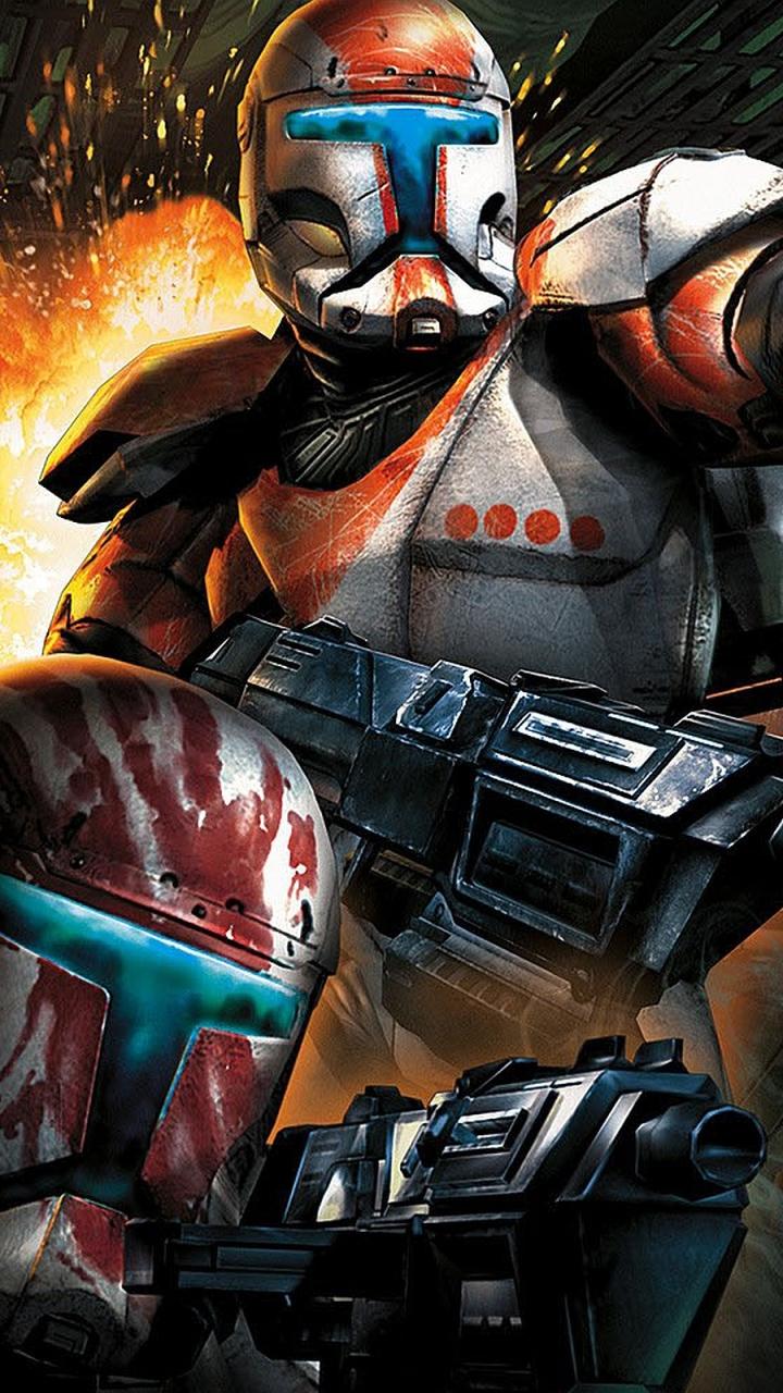 Video Game Star Wars Republic Commando 720x1280 Wallpaper Id