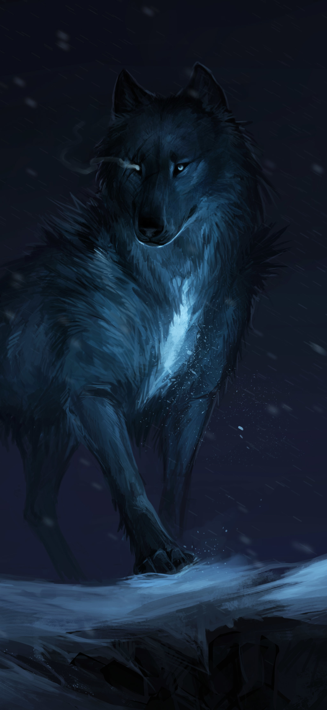 Fantasywolf 1080x2340 Wallpaper Id 814831 Mobile Abyss
