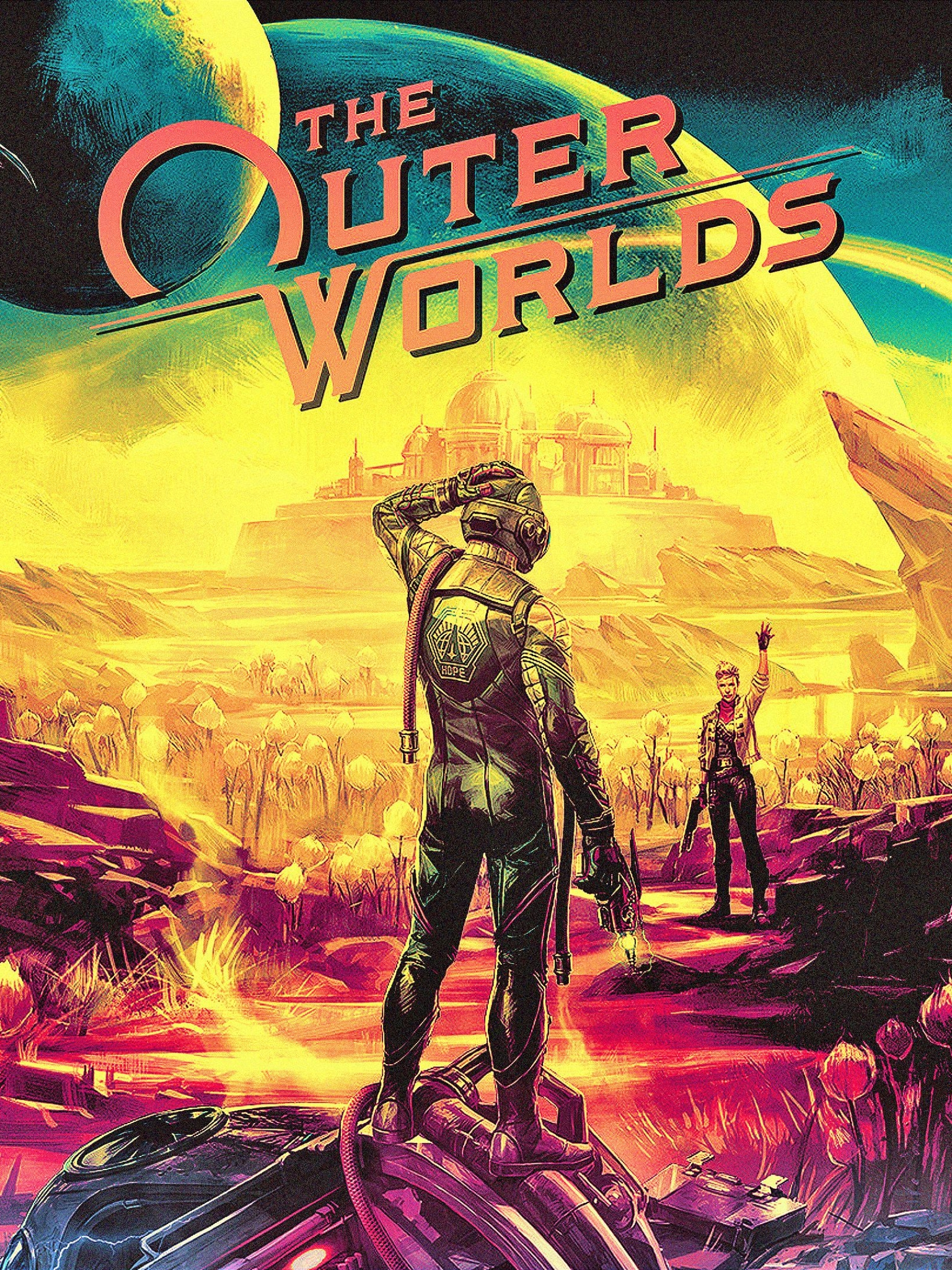 Video Game The Outer Worlds 1536x2048 Wallpaper Id 816411
