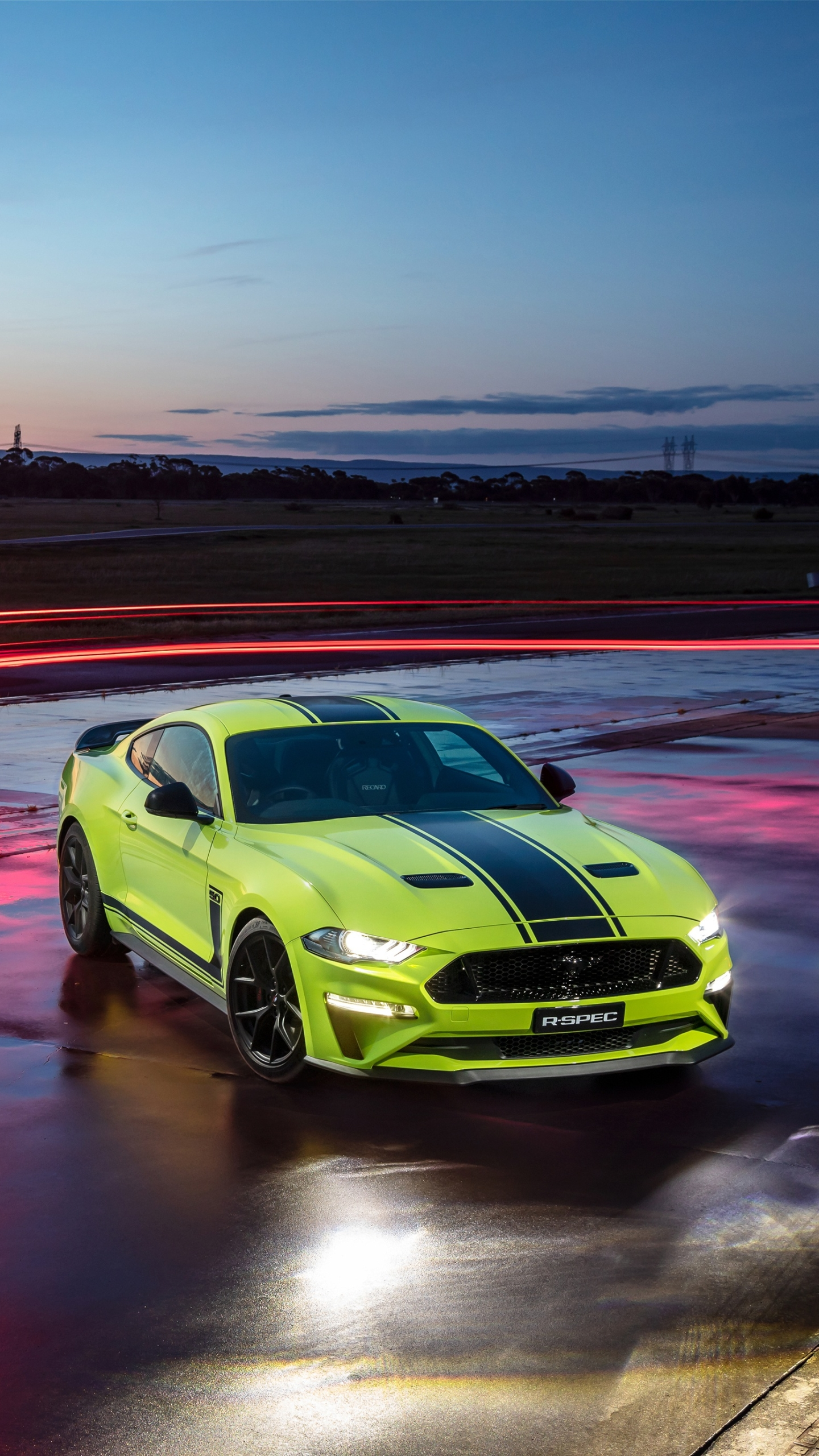 Vehiclesford Mustang R Spec 1440x2560 Wallpaper Id