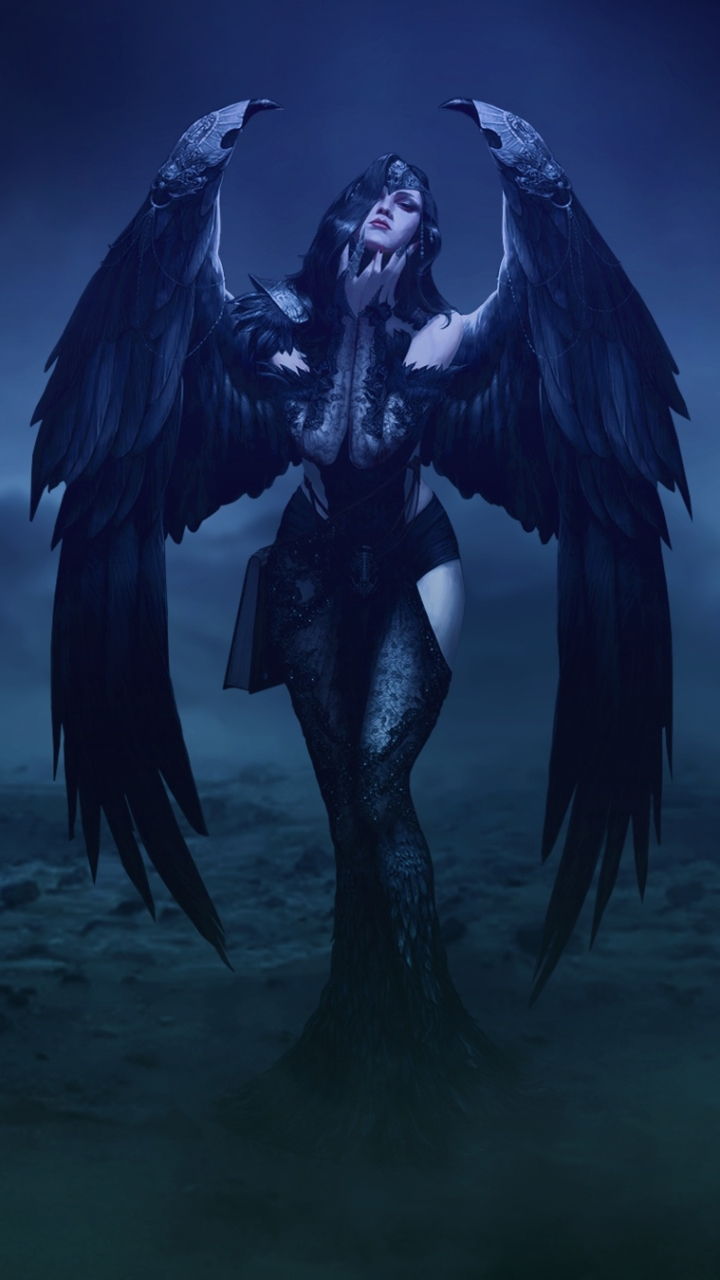 Dark Angel 720x1280 Wallpaper Id 823679 Mobile Abyss