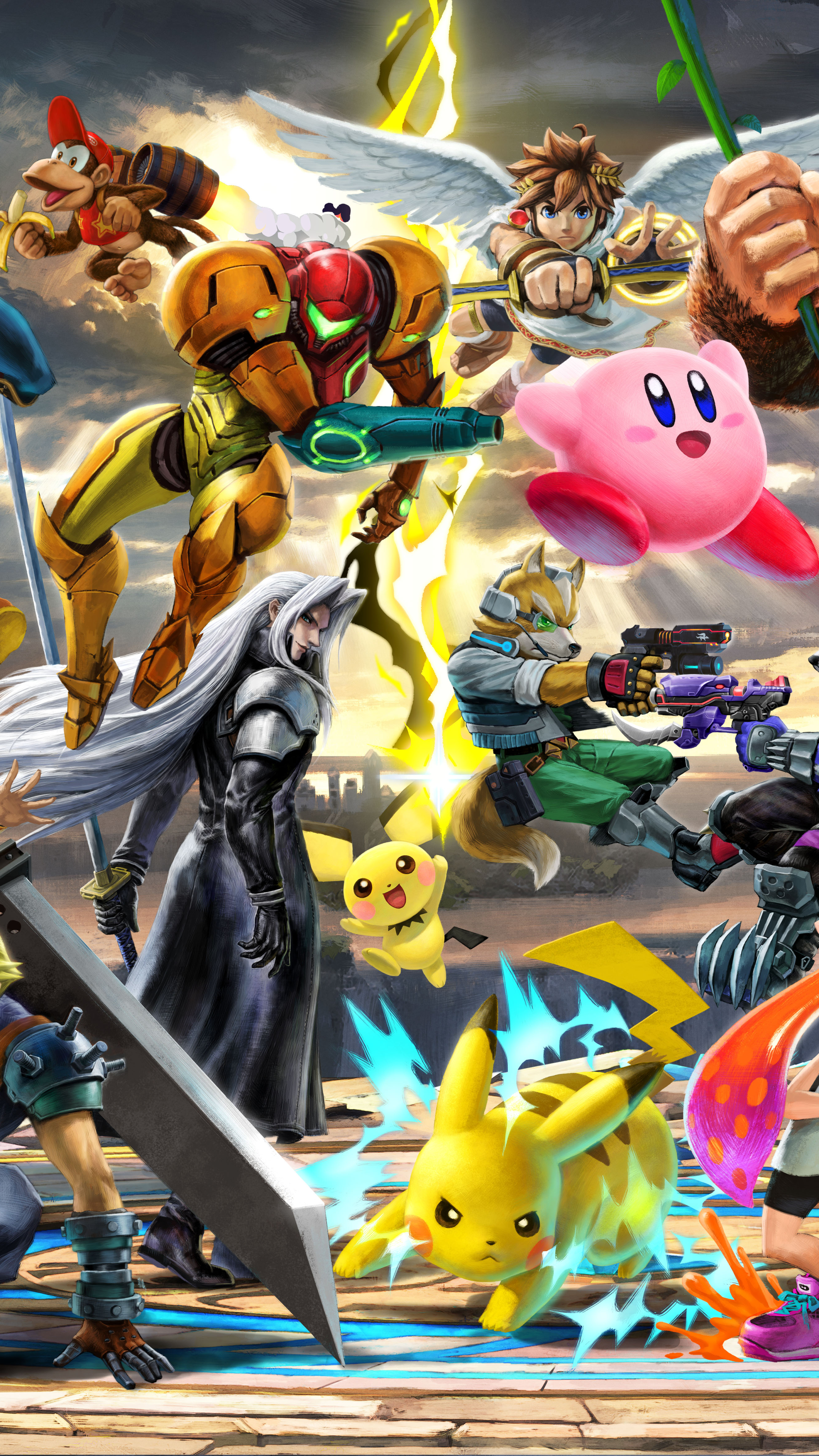 Video Game Super Smash Bros Ultimate 1440x2560 Wallpaper Id