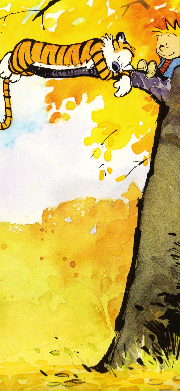 Comics Calvin Hobbes 1080x2340 Wallpaper Id 827294 Mobile Abyss