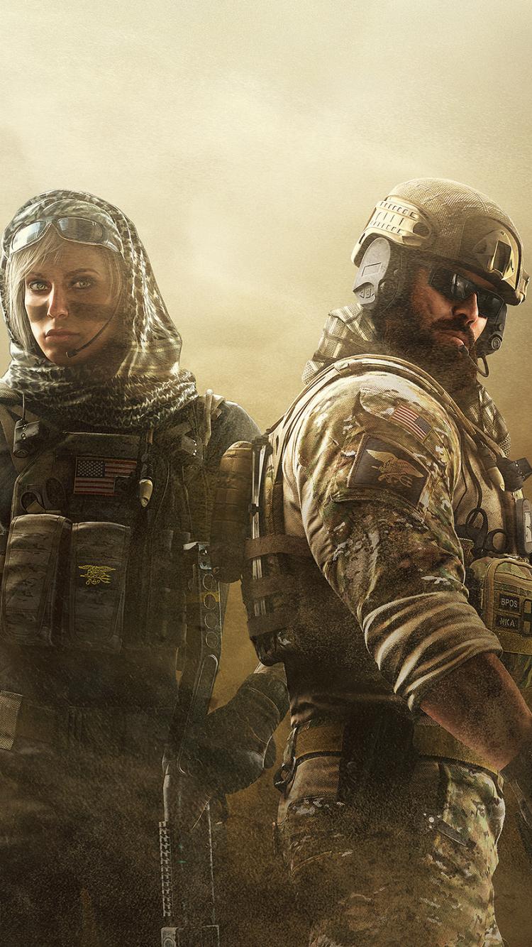 Video Game Tom Clancy S Rainbow Six Siege 750x1334 Wallpaper Id