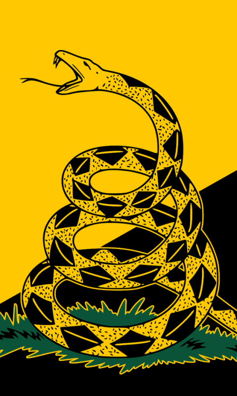 Misc Gadsden Flag 480x800 Wallpaper Id 829844 Mobile Abyss