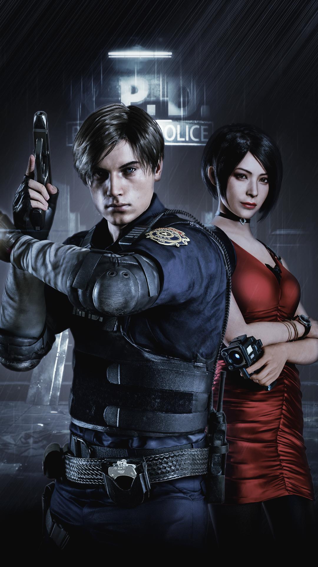 Video Game Resident Evil 2 2019 1080x1920 Wallpaper Id 830560