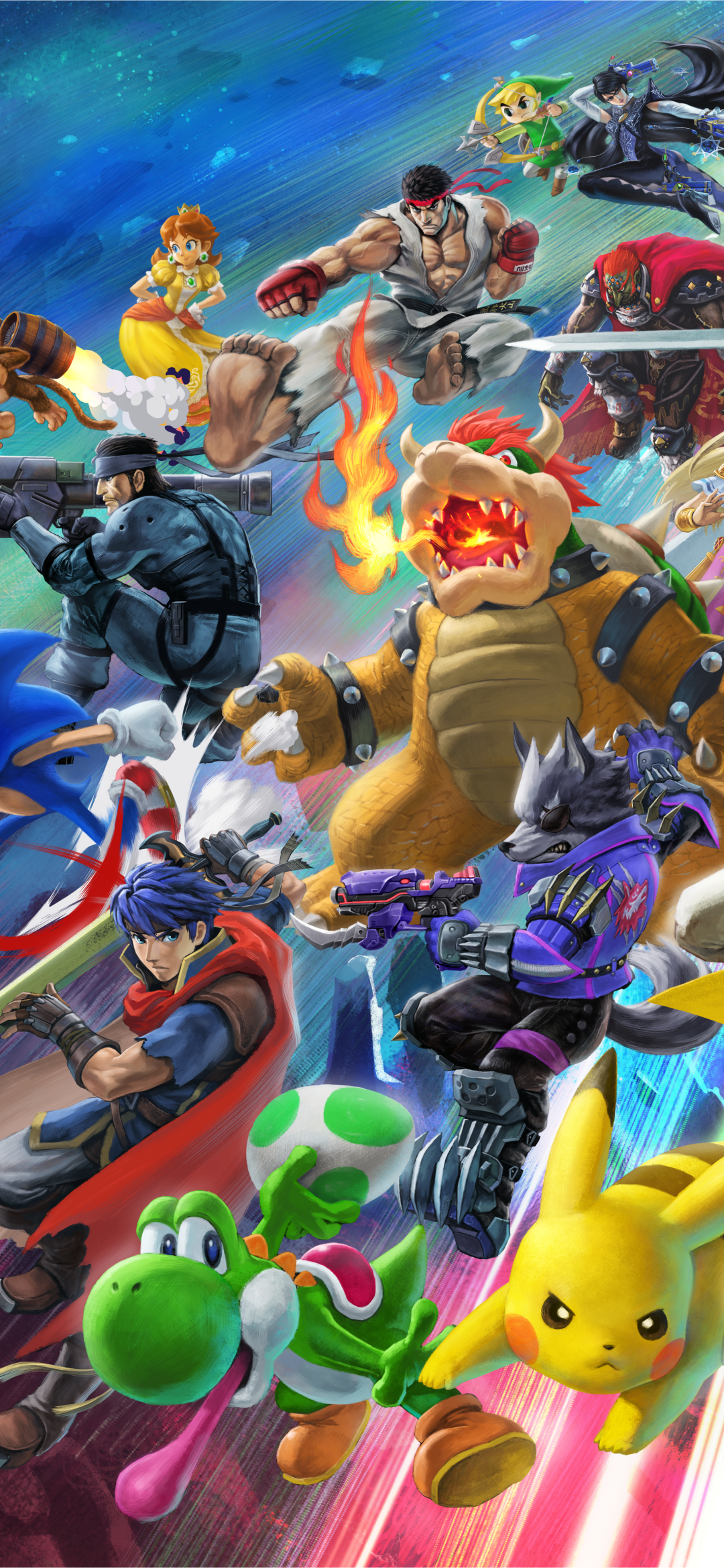 Video Game Super Smash Bros Ultimate 828x1792 Wallpaper Id
