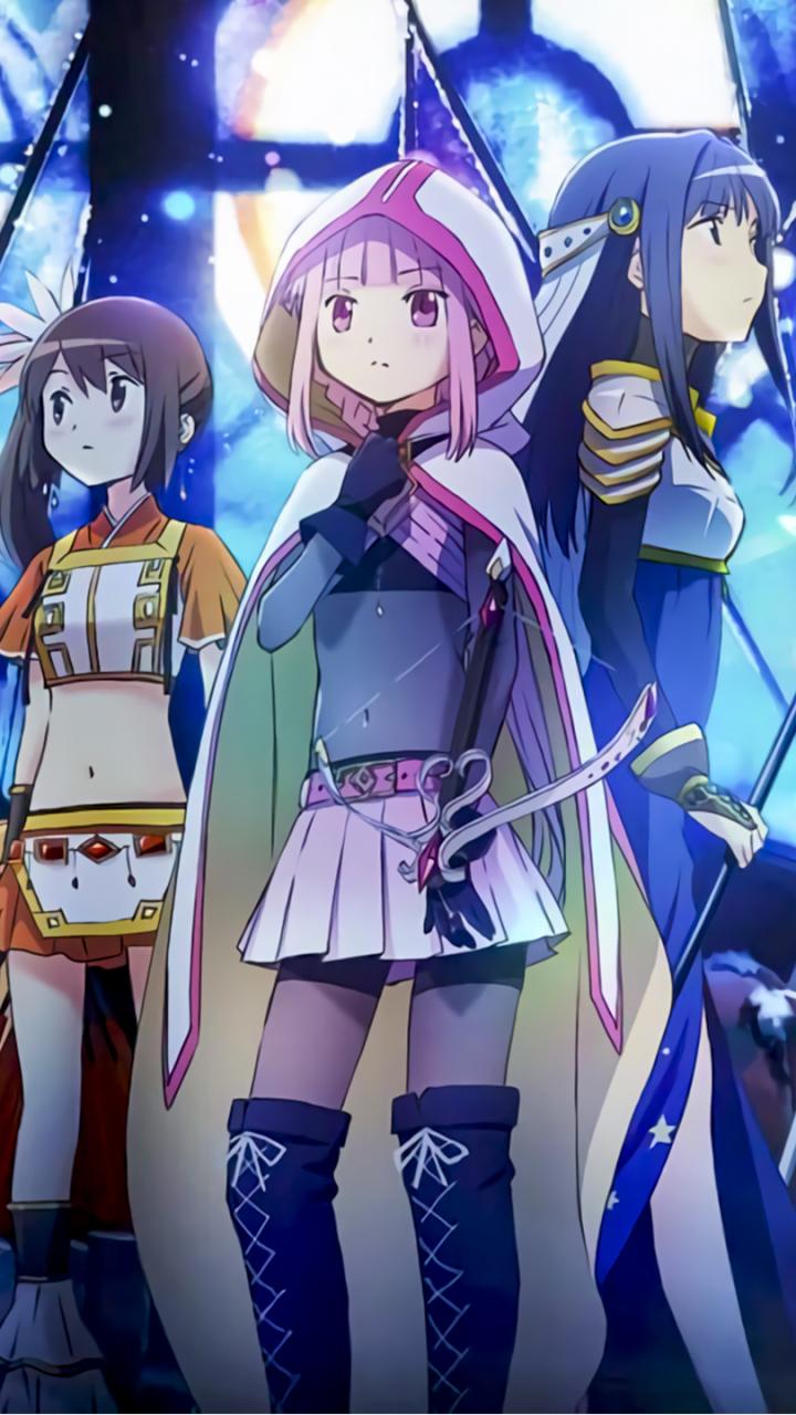 Anime Magia Record Mahou Shoujo Madoka Magica Gaiden 720x1280