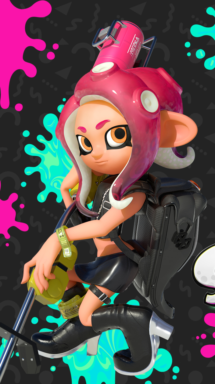 Video Game Splatoon 2 750x1334 Wallpaper Id 839949 Mobile Abyss