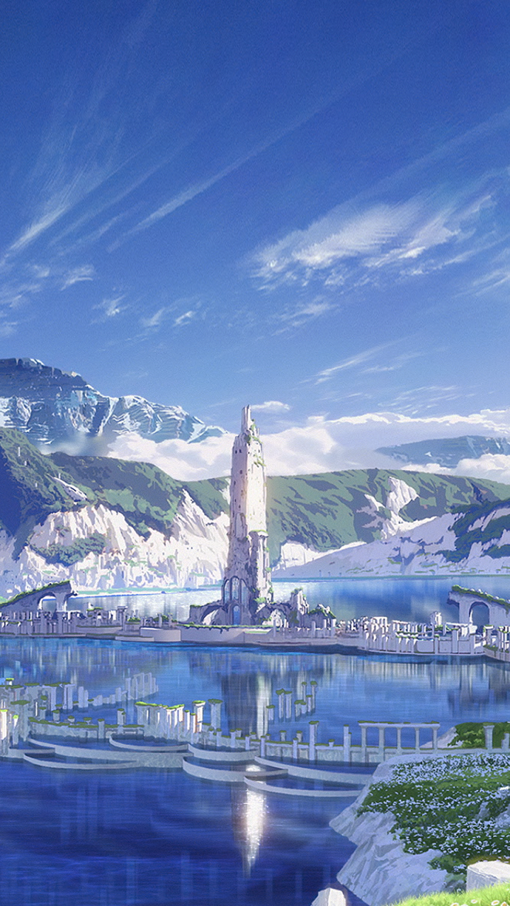 Anime Maquia When The Promised Flower Blooms 720x1280 Wallpaper