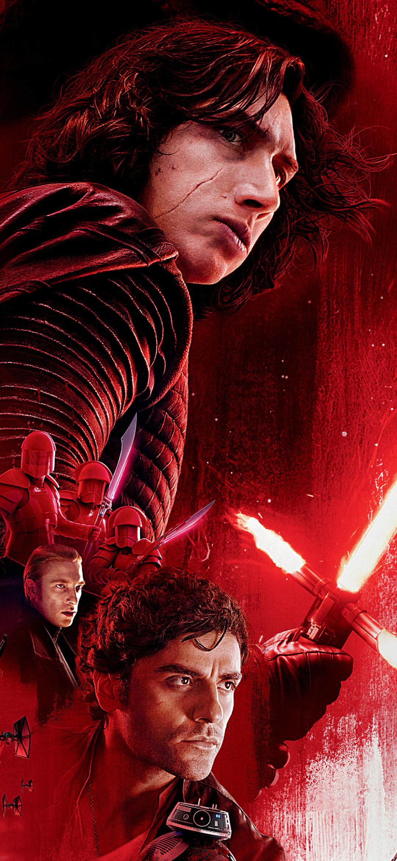 Movie Star Wars The Last Jedi 1080x2340 Wallpaper Id 844218