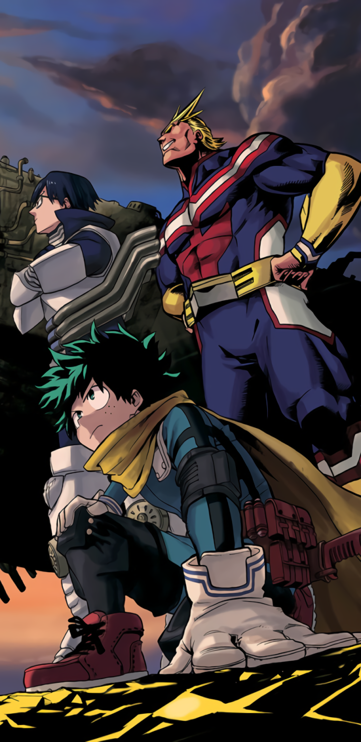 Anime My Hero Academia 720x1480 Wallpaper Id 847343 Mobile Abyss