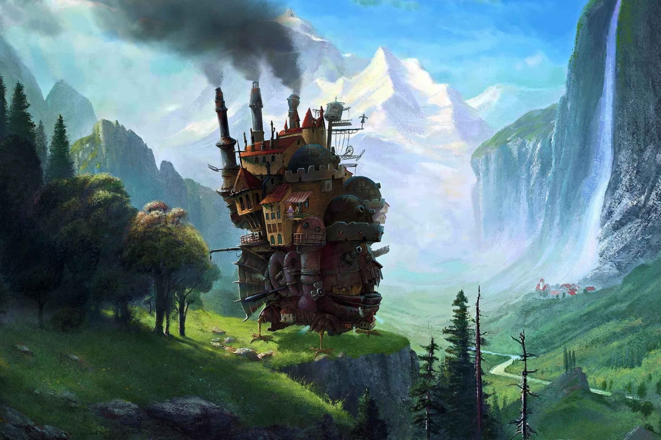 Anime Howl S Moving Castle 2160x1440 Wallpaper Id 851706