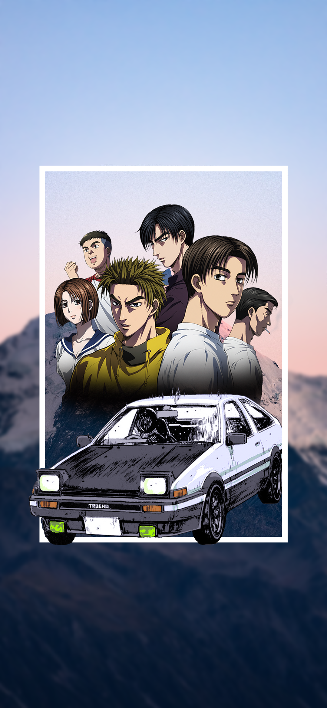 Anime Initial D   Mobile Abyss