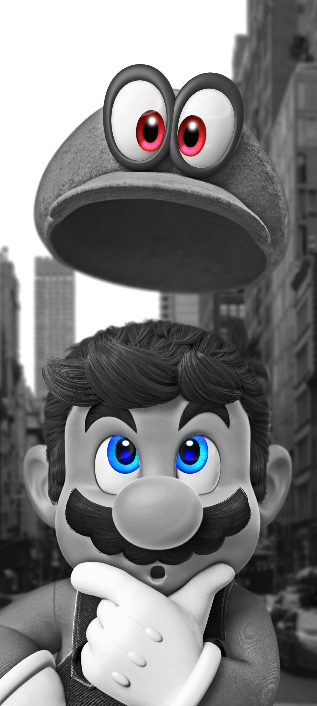 Video Game Super Mario Odyssey 720x1600 Wallpaper Id 871011