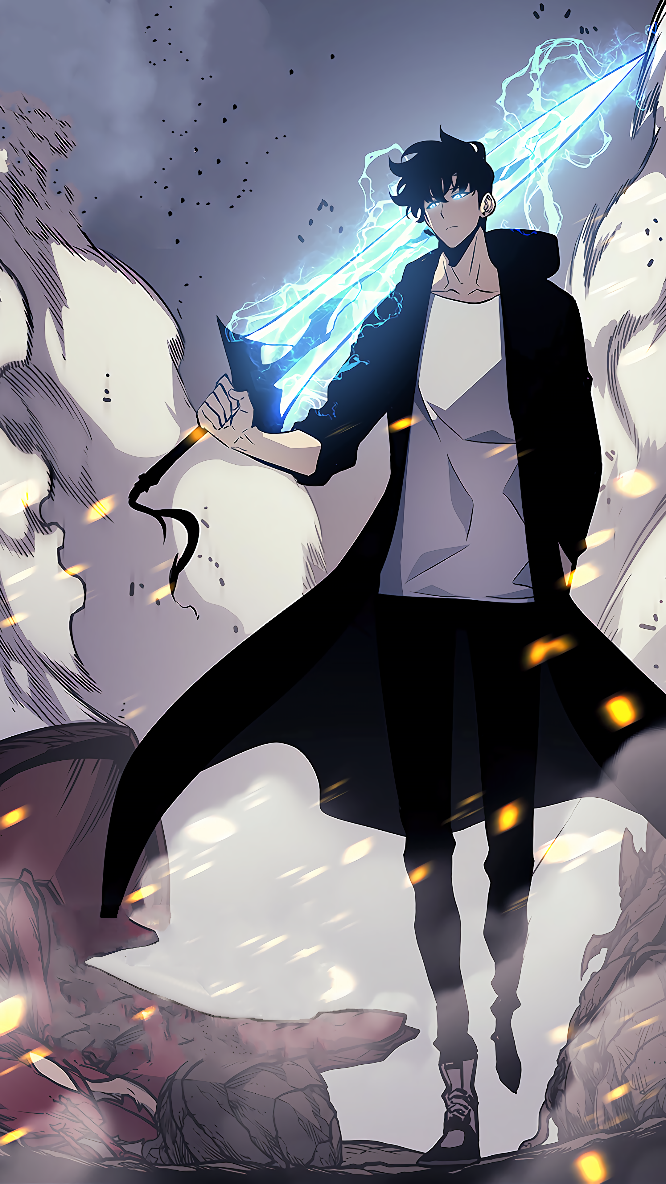 Anime/Solo Leveling (2160x3840) Wallpaper ID: 877683 ...