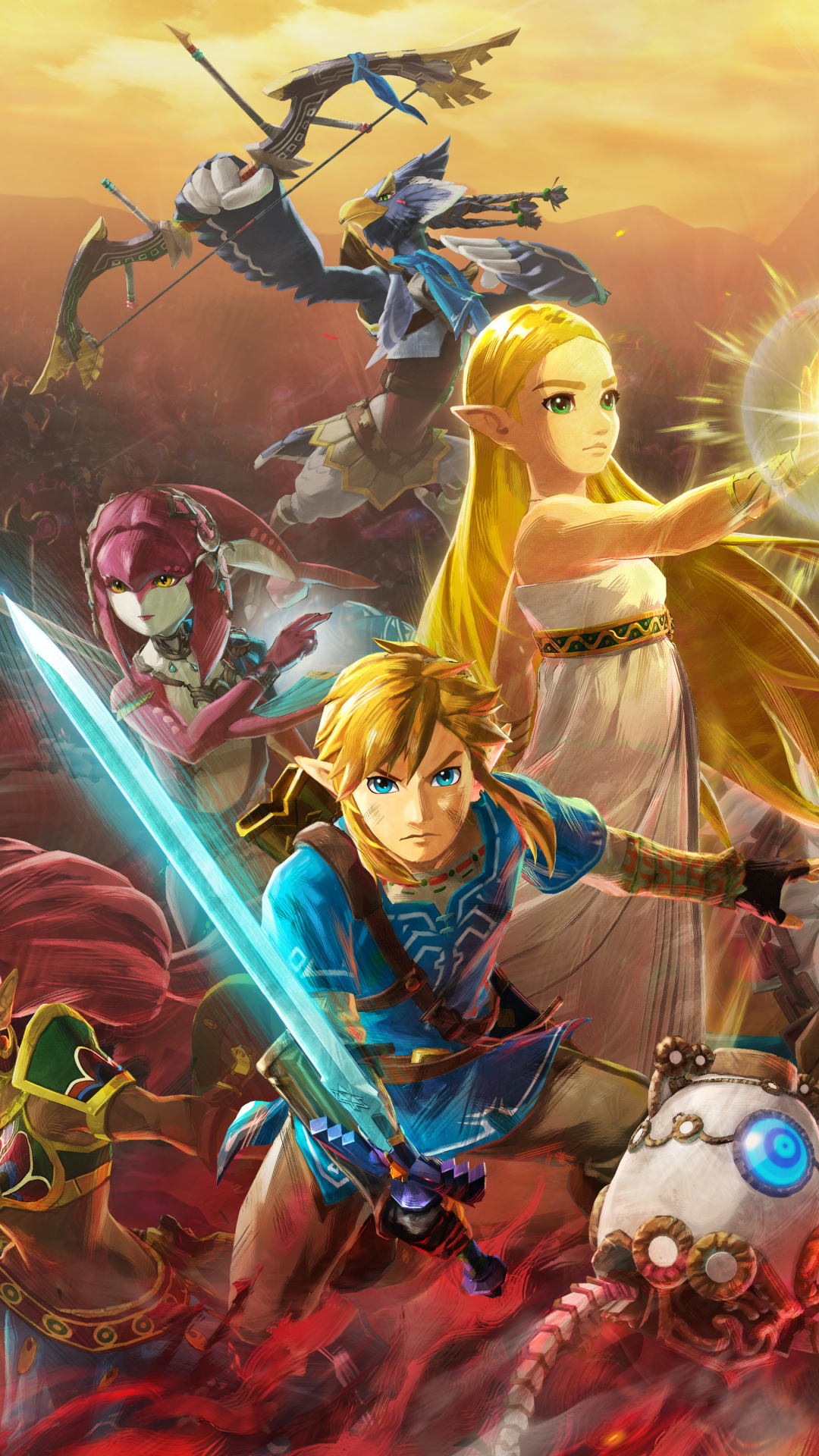 Video Game Hyrule Warriors Age Of Calamity 720x1280 Wallpaper Id 880093 Mobile Abyss
