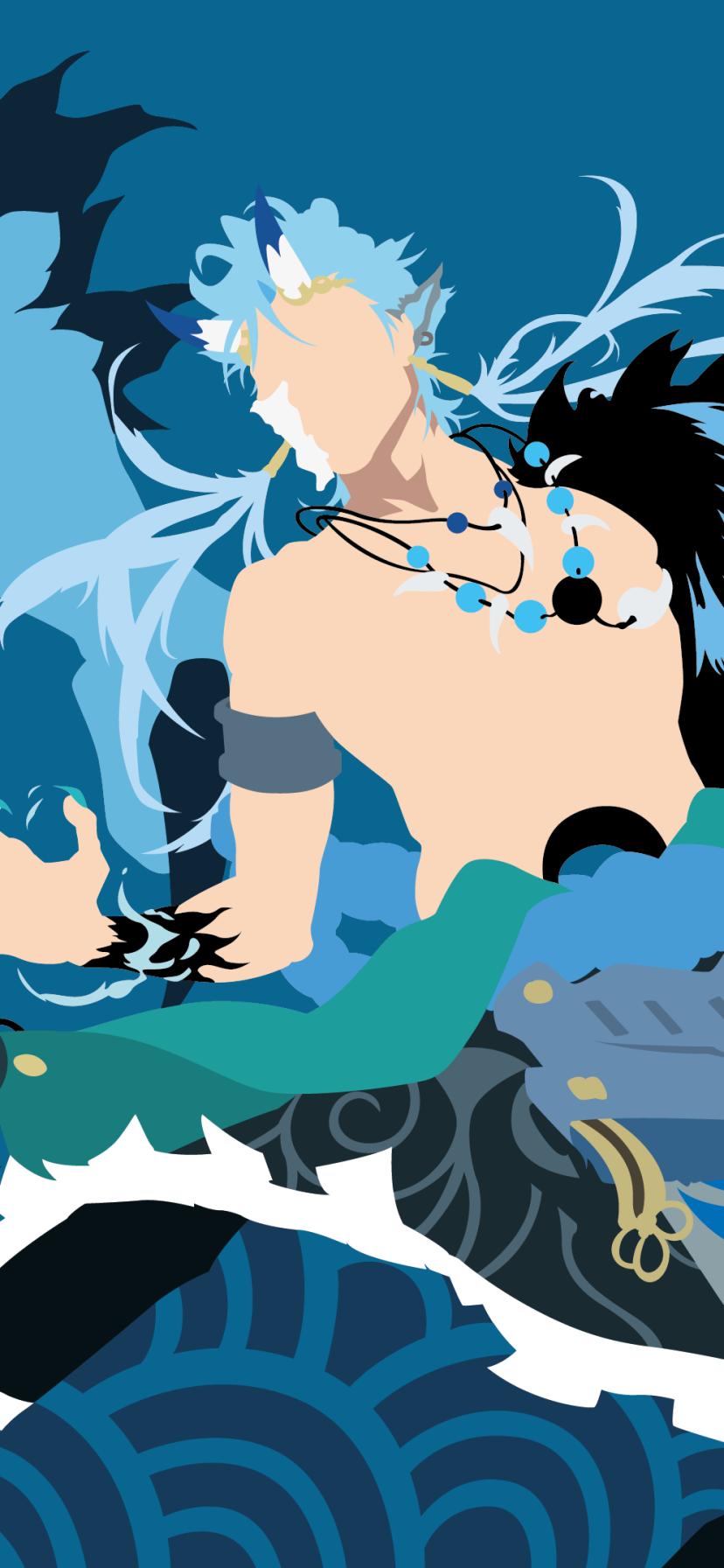 Download Wallpaper Anime / Bleach (828x1792) Mobile Wallpaper