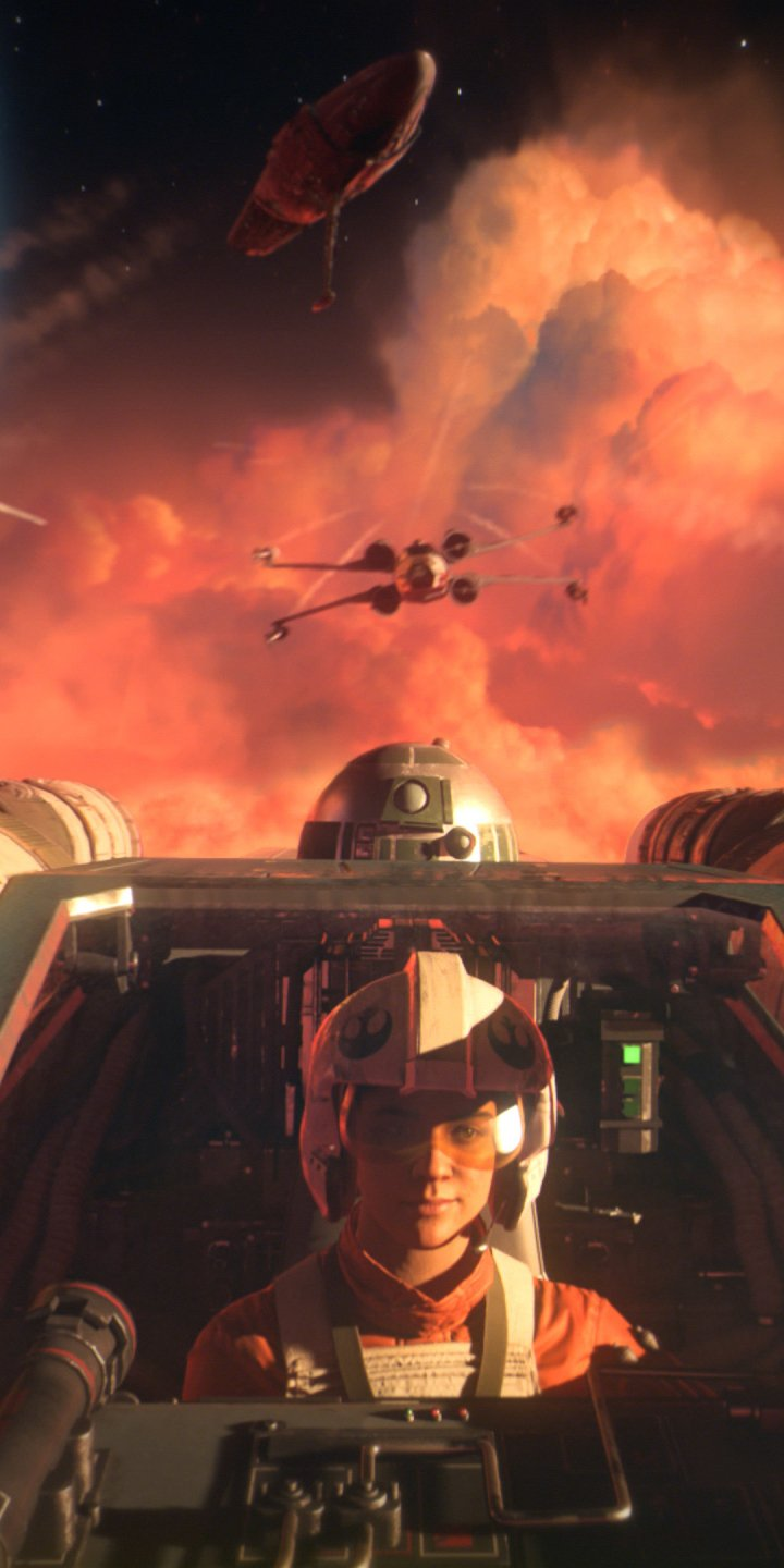 Video Game Star Wars Squadrons 720x1440 Wallpaper Id 889063 Mobile Abyss