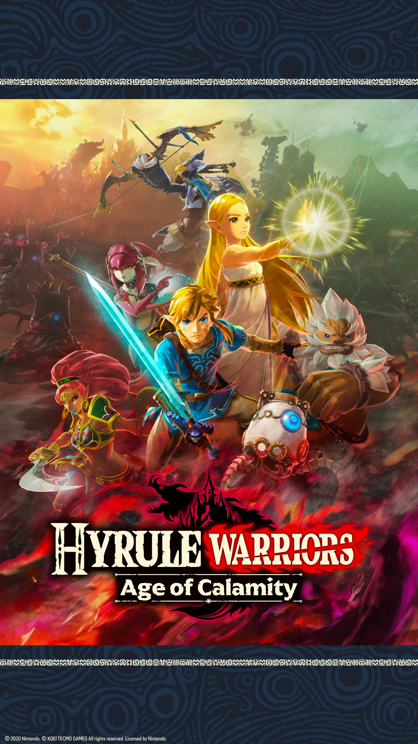 Video Game Hyrule Warriors Age Of Calamity 1440x2560 Wallpaper Id 889900 Mobile Abyss
