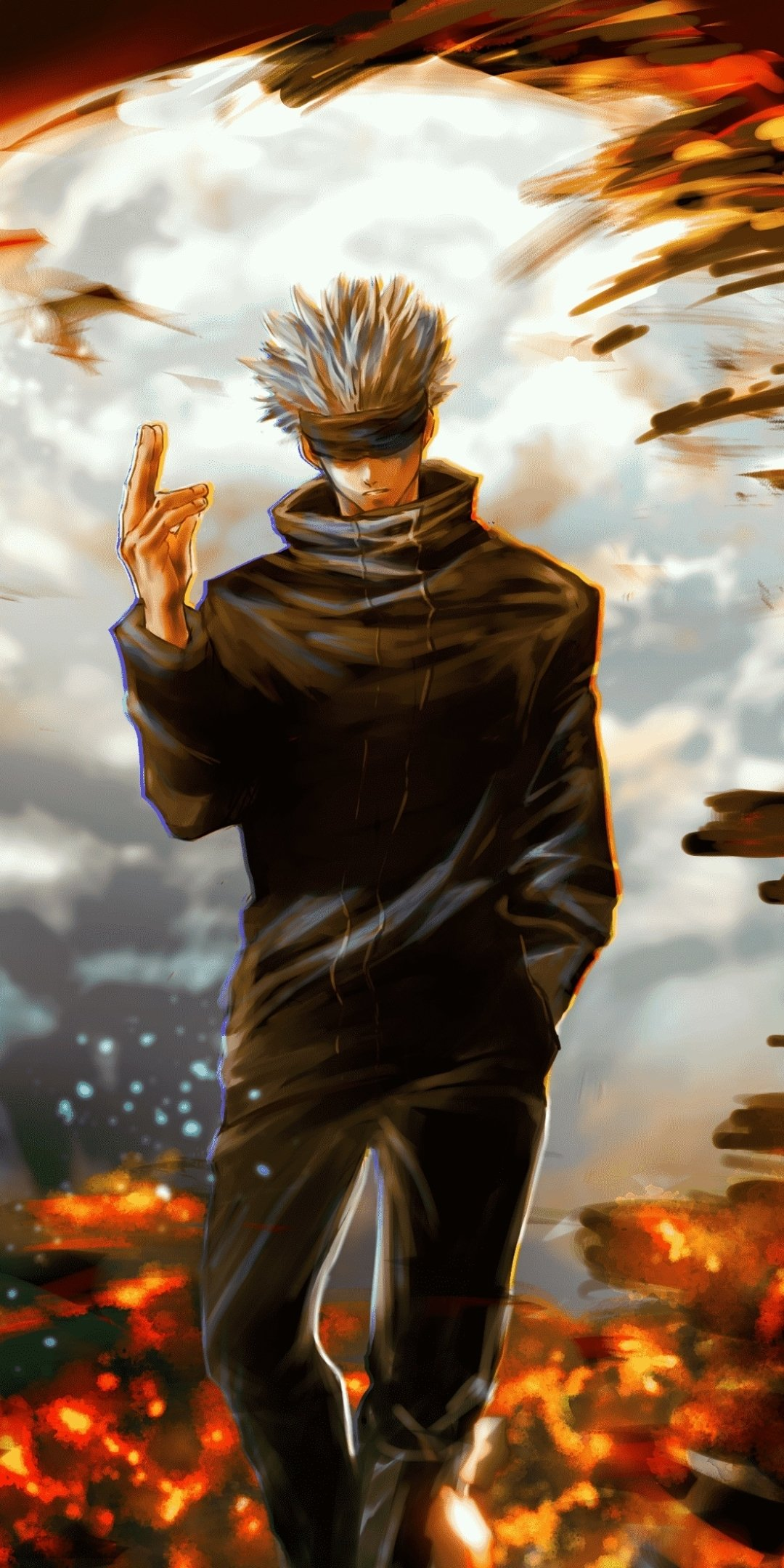 Download Wallpaper Anime / Jujutsu Kaisen (1080x2160) Mobile Wallpaper