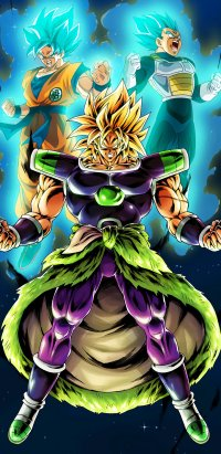 240 Dragon Ball Super Broly Mobile Wallpapers Mobile Abyss