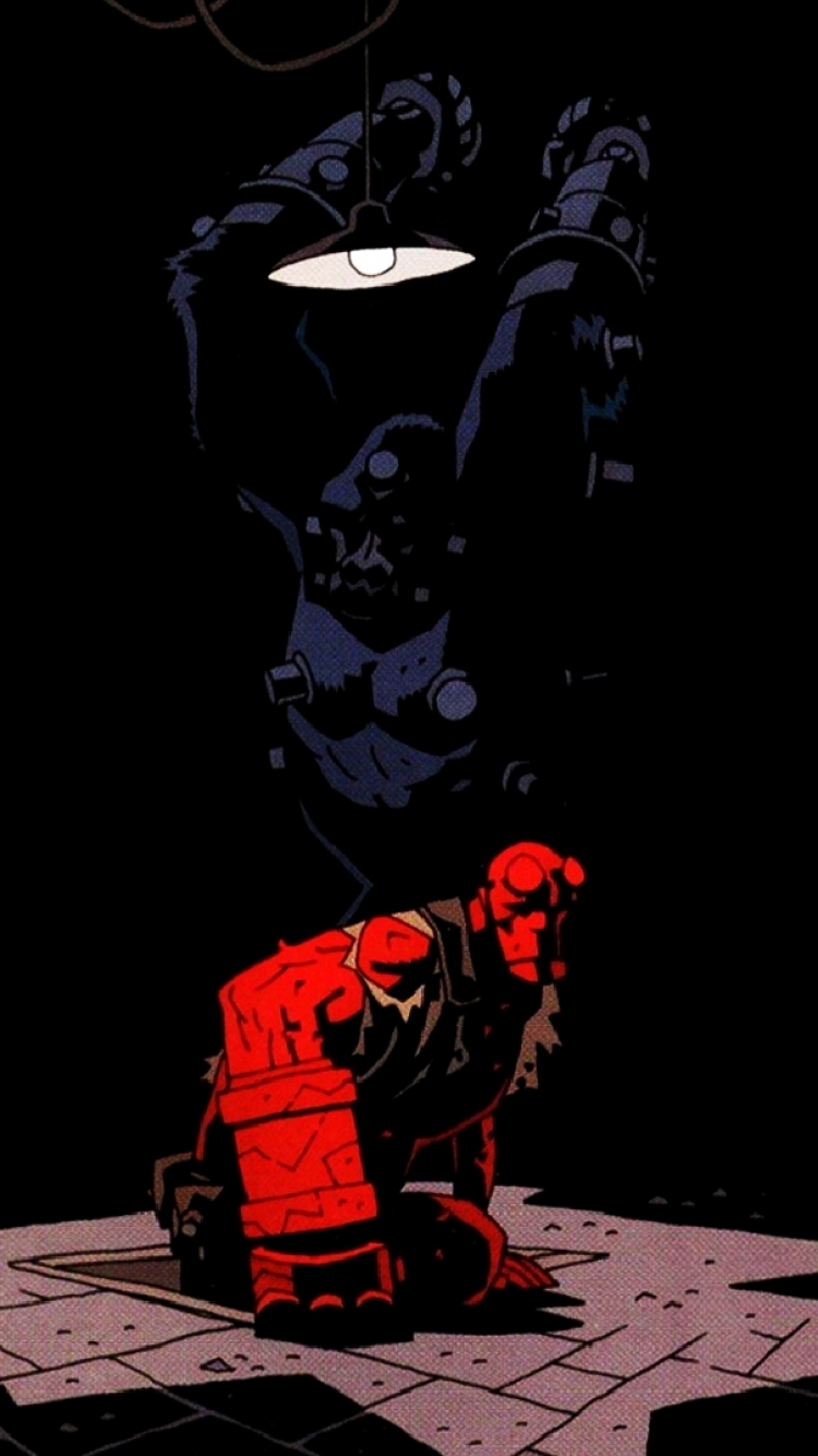 Group Of Hellboy Hd Mobile Wallpaper